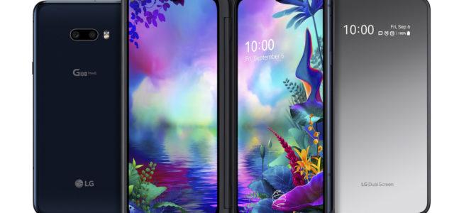 LG G8X ThinQ und neuer LG Dual Screen verbessern mobiles Multitasking und Benutzervergnügen