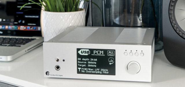 Pro-Ject Pre Box RS2 Digital – High End-Klangzentrale mit Vorverstärker, Kopfhörer-Amp und DAC