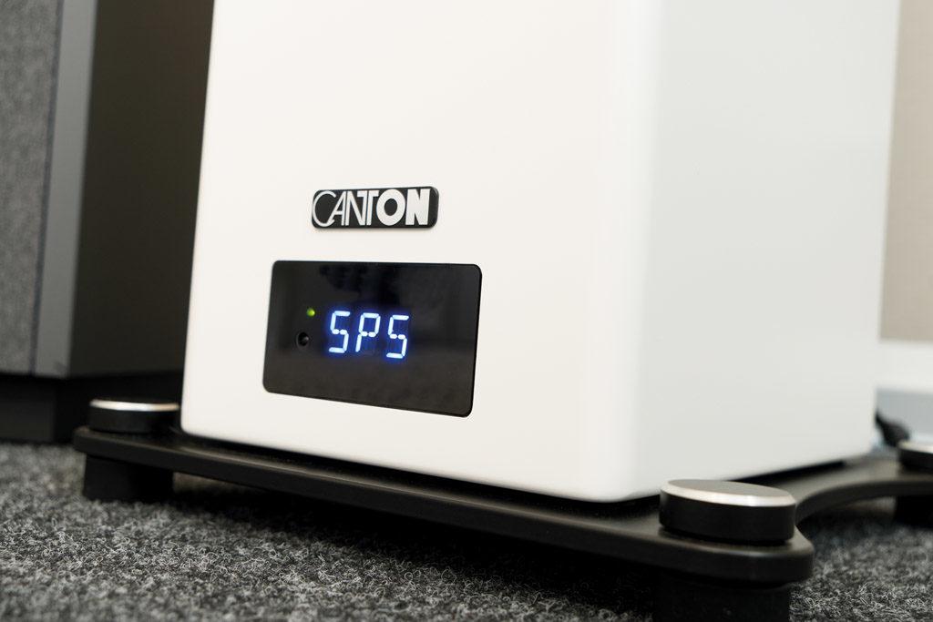 Das Display der Smart A 25 gibt jederzeit Aufschluss über den Betriebszustand, ohne sich ständig ins Blickfeld zu drängen.