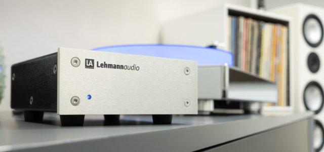 Phono-Vorverstärker Lehmannaudio Black Cube SE II – Der Zauberwürfel