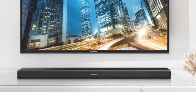 Satter Kinosound für Zuhause: Die neuen Soundbars von Grundig