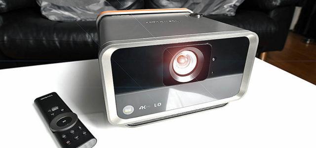 ViewSonic X10-4K – portabler LED-Heimkino-Projektor für XXL-Filmbilder