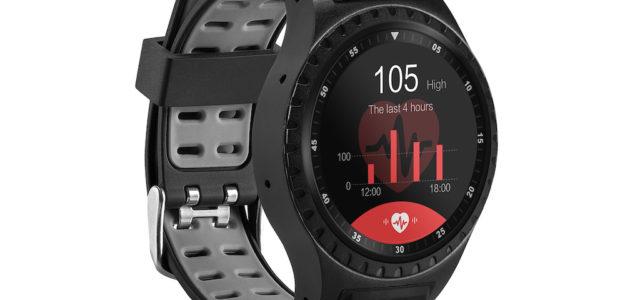 ACME SW302: Smarte Uhr mit integriertem GPS und Sensoren zur Messung von Umgebungsdaten