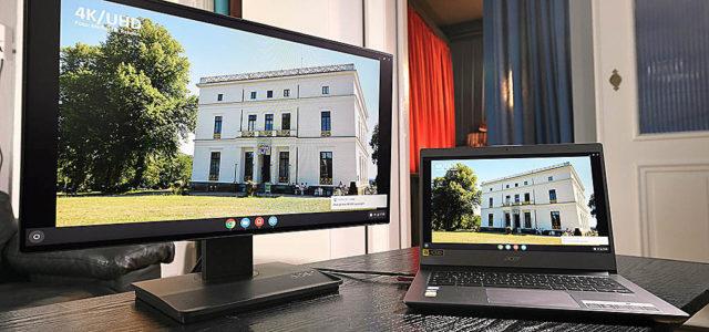 Acer Chromebook 714 und Acer BE240Y – effektives Team für Büro und Home Office