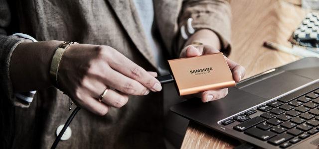 Selbstbestimmt statt 9-to-5: Mit der Samsung SSD T5 sicher ins eigene Business