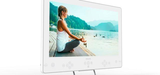 Philips präsentiert neuen  Bedside TV mit integrierter Chromecast-Technologie