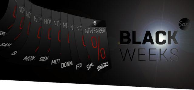 Saxx Audio startet die Black Weeks mit satten Rabatten