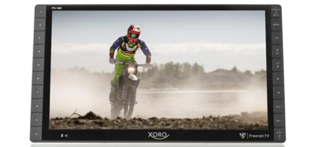 Xoro PTL 1450 – Tragbarer 14 Zoll Full HD Fernseher mit DVB-T2 Tuner