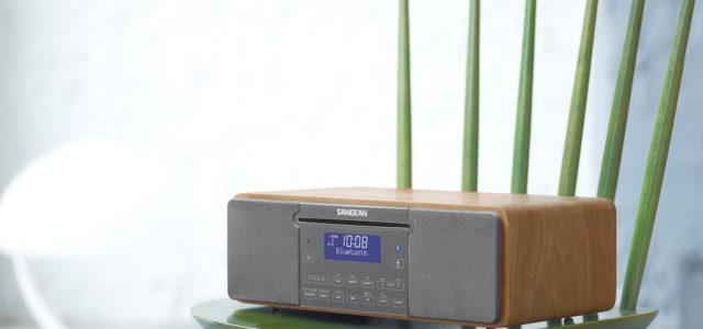 Sangean Genuine 470, kompakter Alleskönner für DAB+, BT-Streaming und CD