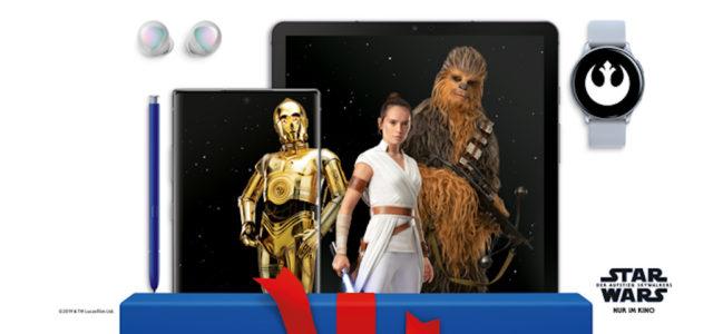 Samsung startet Weihnachtskampagne zusammen mit Star Wars
