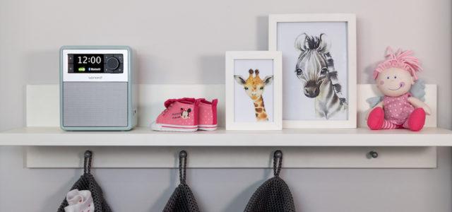 Pastellgrün und Sandstein: Neue Sonderfarben für das EASY Musiksystem von sonoro