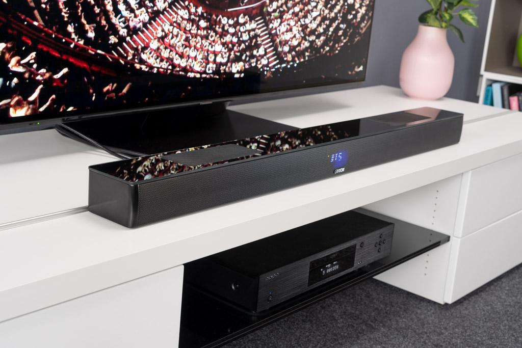 Dank Dolby Atmos lässt die Smart Soundbar 10 den Zuschauer Filme ganz neu erleben.