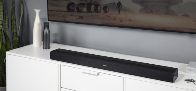 DHT-S216: Die neue Denon All-In-One Soundbar mit Virtual 3D-Sound