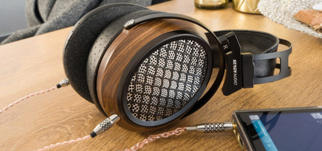 SendyAudio Aiva: elektromagnetischer Open-Back-Kopfhörer aus Holz und Leder