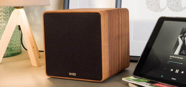 "WHD Qube XL:  Nachhaltiger Streaming-Speaker ""Made In Germany"""