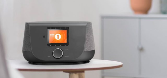 Hama Digitalradio DIR 3300: Hybridradio im angesagten Stoff-Design