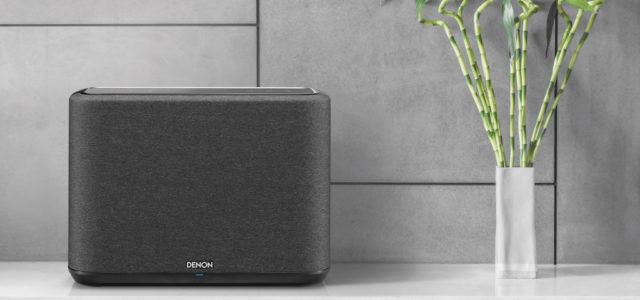Denon stellt die neuen kabellosen Multiroom-Lautsprecher Denon Home 150, 250 und 350 vor