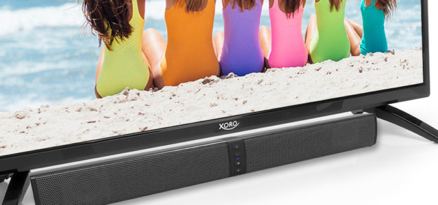 Xoro präsentiert 2-in-1-Bluetooth-Soundbar HSB 55