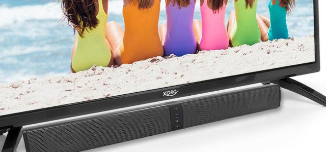 Xoro präsentiert 2-in-1-Bluetooth-Soundbar HSB 55