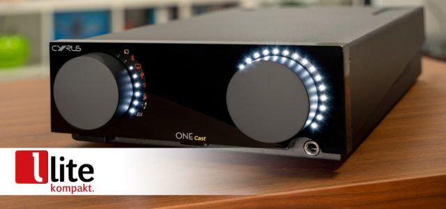 Cyrus ONE Cast – HiFi-Streamingverstärker mit Voice Control