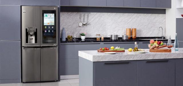 Neue Instaview Kühlschrank-Technologie von LG erlaubt Einblicke in die Küche von morgen
