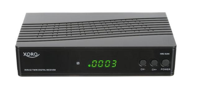 HRS9194: Neuer SAT-Receiver mit TWIN-Tuner von Xoro