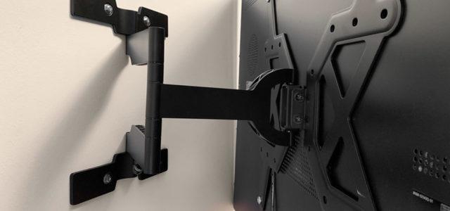 Hama Fullmotion Ultraslim: Flacher Wandhalter für große LED-Fernseher