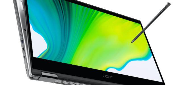 Schlanker und stärker – Acer stellt neue Generation der Spin-Serie vor