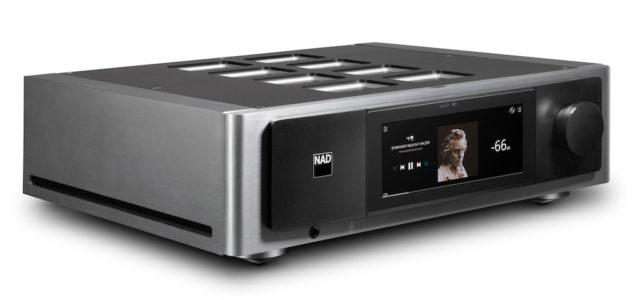 NAD präsentiert BluOS Streaming-Vollverstärker M33