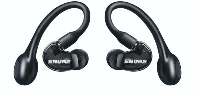 Shure führt neuen kabellose Kopfhörer der Aonic-Serie mit ANC und True Wireless ein