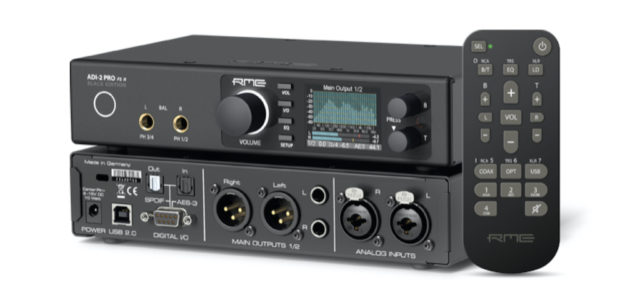 ADI-2 Pro FS R BLACK EDITION: High-Performance 768 kHz Zwei-Kanal AD/DA Wandler
