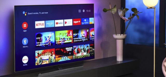 Philips TV setzt bei den OLED-TVs 805/855 auf die 4. Generation