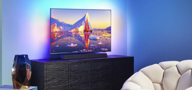 TP Vision präsentiert neue Philips OLED-TVs mit Sound by Bowers & Wilkins