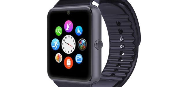 simvalley mobile Handy-Uhr & Smartwatch PW-460 mit IPS-Display, Kamera, Bluetooth & App