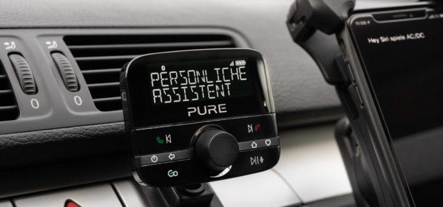 Pure Highway 600 – Autoradio auf DAB+ und mit netten Zusatzfunktionen aufrüsten