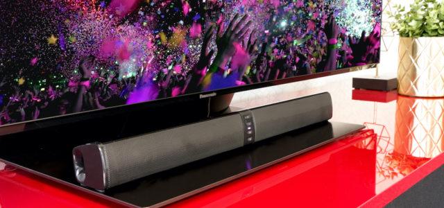 Xoro HSB 55: Mini-Soundbar oder Stereo-Lautsprecher