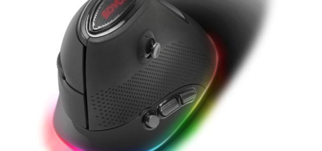 Spaß bei bester Gesundheit: Speedlinks ergonomische Gaming-Maus Sovos