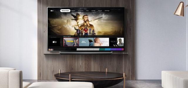 LG Electronics stattet 2019er LG Fernseher mit Apple TV-App und Apple TV+ aus