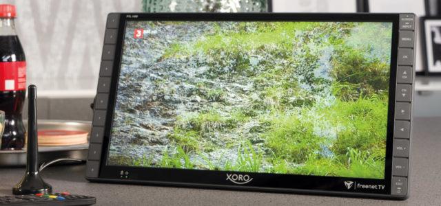 Xoro PTL 1450: Tragbarer Mini Full HD-Fernseher für Freiheitsliebende
