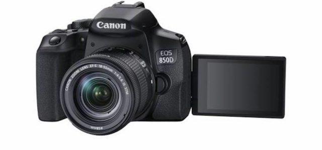 Canon EOS 850D: Schnelle Einsteiger-DSLR mit Augen-AF