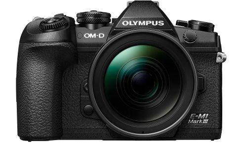 Olympus präsentiert: Die neue Profikamera OM-D E-M1 Mark III mit dem weltweit kompaktesten und leichtesten Standardzoom