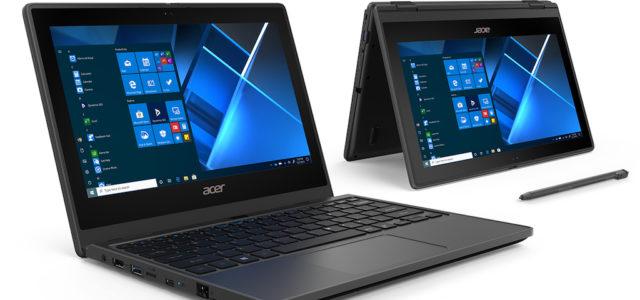 Acer präsentiert neue TravelMate-Notebooks für das Klassenzimmer