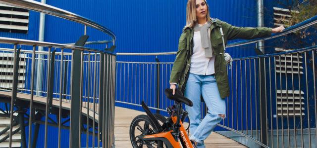 Design und Dynamik: Stylische Falt-E-Bikes von Blaupunkt