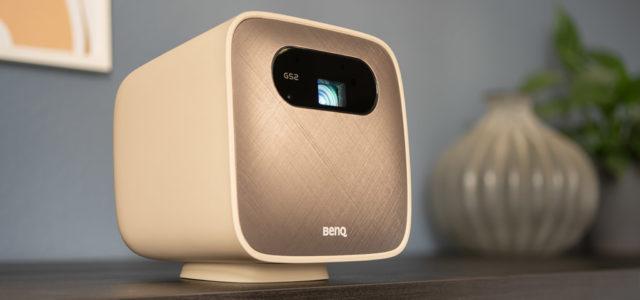 BenQ GS2: Kleiner, wasserdichter Beamer mit Mediaplayer, Akku, farbenfrohem Bild und vielen Anschlüssen