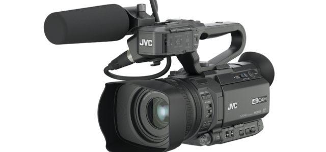 JVC präsentiert 4K-Camcorder GY-HM250 mit Live-Streaming-Funktionalität