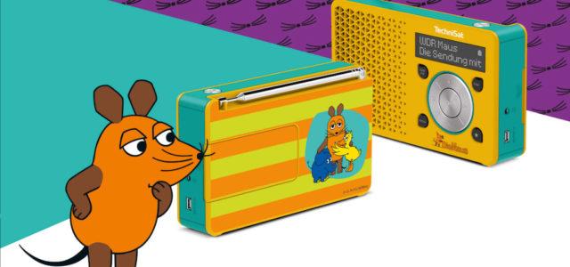 Fans der Maus aufgepasst: Das TechniSat Digitradio 1 Maus-Edition kommt jetzt auf den Markt
