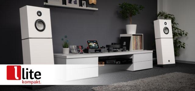 Lyravox Karlina Pure – Aktiv-Lautsprecher im Loft-Style