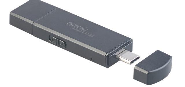 auvisio 2in1-USB-Stick & Voice-Recorder REC-220: Vorträge aufnehmen und wichtige Dokumente speichern