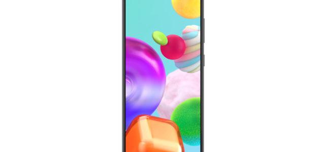 Leistungsstark und handlich: Samsung Galaxy A41 ab sofort deutschlandweit erhältlich