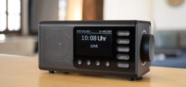 Hama DR1000DE – Digitalradio pur, kein Schnickschnack, keine Umwege